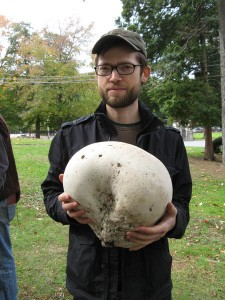 Giant Puffball, Woodlawn Cemetery