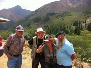 Manny, Gary, Brooke, and Art at Ophir