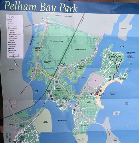 Pelham Bay Park Map Gary Lincoff » Pelham Bay Park